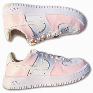 Nike AF1 Air Force 1 Womens 6 Shoes Sneakers white